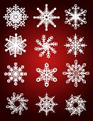 Hi Res Snow Flake Collection