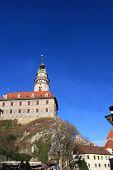 Side Of Cesky Krumlov Castle