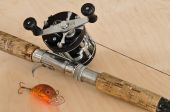 Rod, Baitcasting Reel And Crankbait