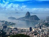 Panoramic View Of Rio De Janeiro Citycsape