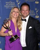 LOS ANGELES - JUN 20:  Lauralee Bell, Scott Martin at the 2014 Creative Daytime Emmy Awards at the The Westin Bonaventure on June 20, 2014 in Los Angeles, CA
