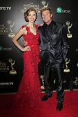 BEVERLY HILLS - JUN 22: Ashlyn Pearce, Winsor Harmon at The 41st Annual Daytime Emmy Awards at The B