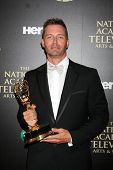 LOS ANGELES - JUN 22:  Eric Martsolf at the 2014 Daytime Emmy Awards Press Room at the Beverly Hilto