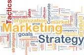 Marketing strategie Word Cloud