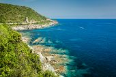 The Coast Of Cap Corse And Tour De L'osse