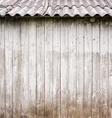 grey wooden plank wall