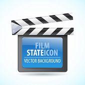 Vector illustrator of media player icon.