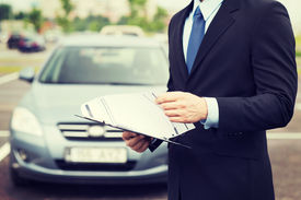 picture of rental agreement  - transportation and ownership concept  - JPG