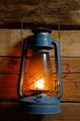 Old windproof lamp