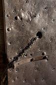 Iron Doors With Chain