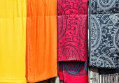 Colorful Fabric Of Morocco