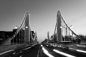 Chelsea Bridge In Black And White