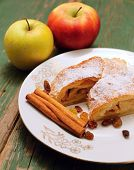 Two Apples And Strudel