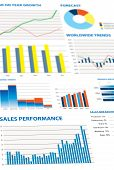 Selection Of Financial And Economic Graphs