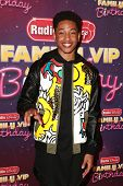 LOS ANGELES - NOV 22:  Jacob Latimore at the Radio Disney's Family VIP Birthday at the Club Nokia on November 22, 2014 in Los Angeles, CA