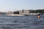 Submarine In Day Of The Navy Of Russia In St. Petersburg