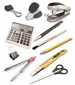 Set Of Stationery Products