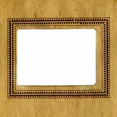Vintage Paper With A Frame