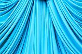 Cyans Curtain Texture