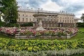 Private Garden And Zubov Wing Of Catherine Palace, Tsarskoye Selo