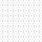 picture of node  - Dotted seamless pattern with rhombus and nodes - JPG