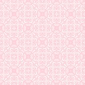 foto of lace  - Seamless lace with pink pattern on a white background - JPG