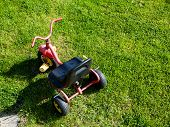 picture of tricycle  - Childhood - JPG