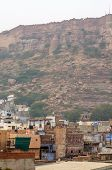 pic of raja  - Jodhpur the blue city with Mehrangarh Fort in the background Rajasthan India - JPG