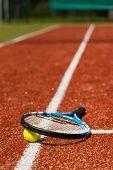 Постер, плакат: Tennis Time