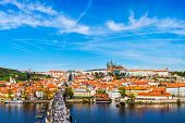 stock photo of bridge  - Prague - JPG