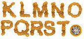 Golden Diamond K-t Letters With Large Gem