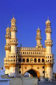 foto of charminar  - 400 year old ancient pride of India - JPG