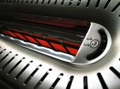 Hot Toaster Close-Up