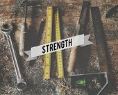 Strength Courage Power Durability Energy Force poster