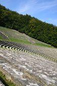 Amphitheatre under sky