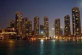 Encantadora noche en Dubai