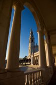 the famous old church of Fatima in Portugal