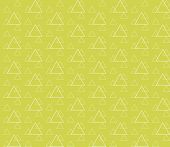 Seamless Geometric Pattern With Outline Triangles. Seamless Abstract Triangle Geometrical Background poster