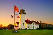 picture of cape-cod  - Chatham Lighthouse is a lighthouse in Chatham Massachusetts near the  - JPG