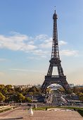 View Of The Eiffel Tower From The Trocadero poster