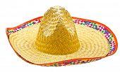 Sombrero isolated on white background