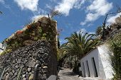 The Town Of Masca In Teneriffe, Spain