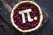Pi Day Cherry Pie poster