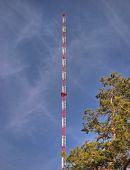 Radio, Tv Transmitter Pole