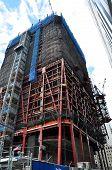 Skyscrapper under construction