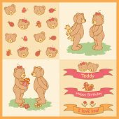 Drawn teddy bears gifts