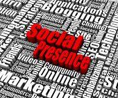 Presencia social