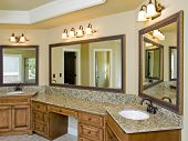 Luxury Bathroom Double Sink