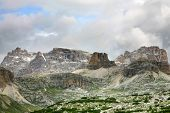 Beautiful Panorama Of The Dolomites - Italy