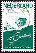 Postage stamp Netherlands 1988 Erasmus of Rotterdam